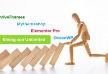 Theme WordPress không còn unlimited license