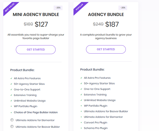 WordPress Astra Agency BIG sale