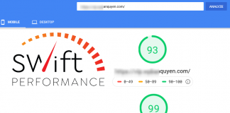 Tăng tốc WordPress bằng Swift Performance