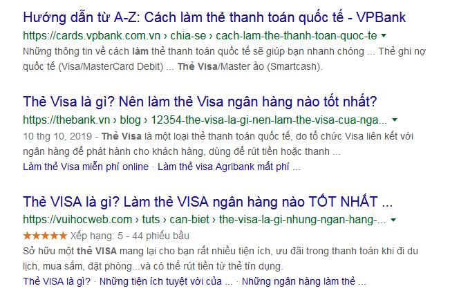 Làm thẻ VISA - Thẻ VISA là gì