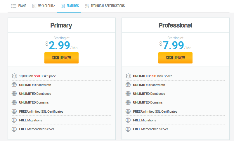 Cloud Hosting của Hawkhost