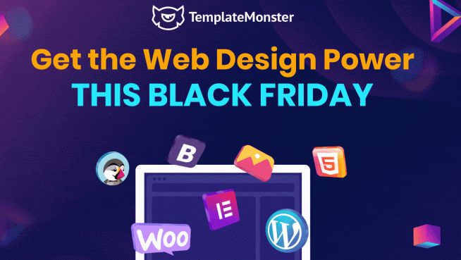Template Monster Black Friday 2019