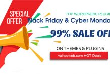 WordPress Plugins Black Friday 2019