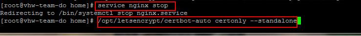 Clone Git Lets Encrypt về VPS