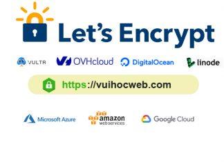 Cài SSL Let's Encrypt cho VPS